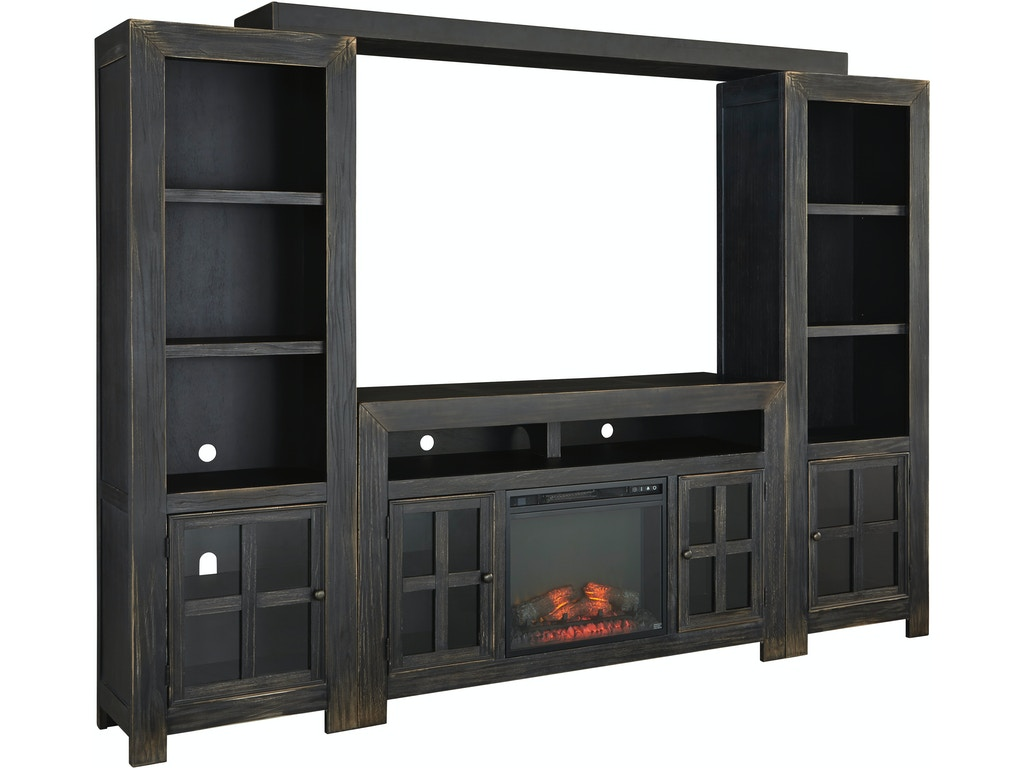 Design Wall Unit gavelston wall unit w tv stand signature design by ashley w732 unit