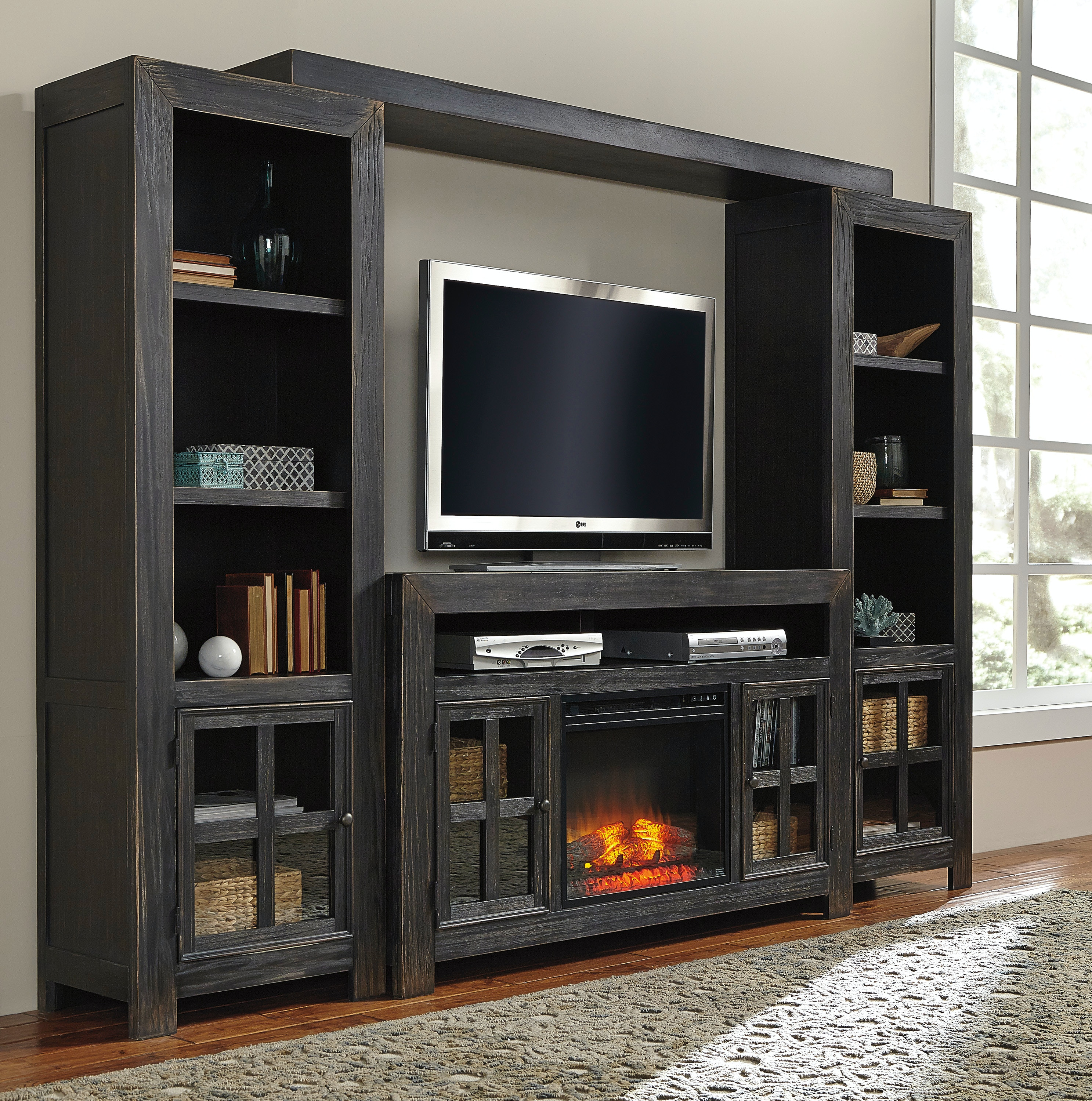 gavelston wall unit w tv stand