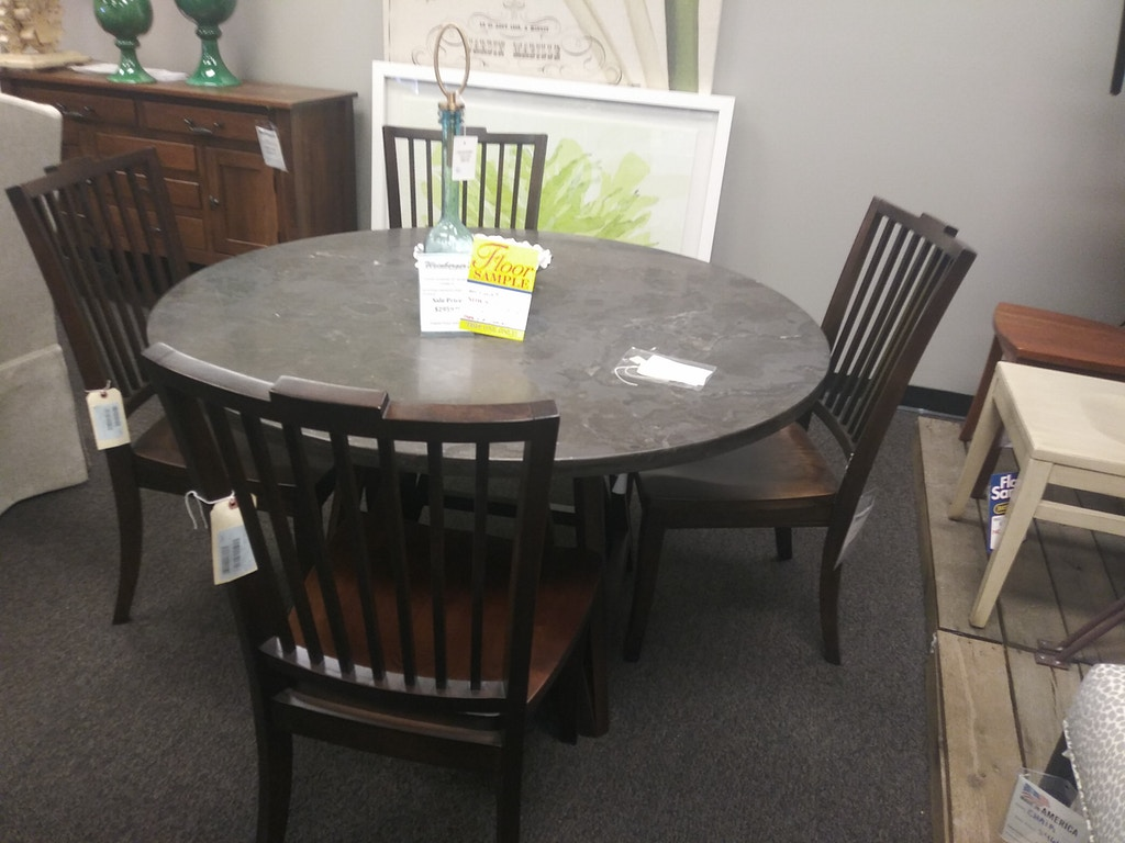 Bassett Dining Table And 4 Chairs 1864b Weinberger S Furniture And Mattress Showcase Augusta