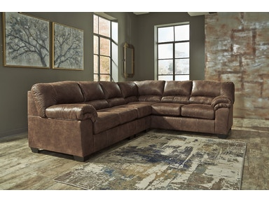 Bladen 3pc Sectional with Armless Chair