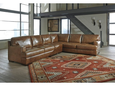 3pc Left Loveseat Sectional with Armless Chair