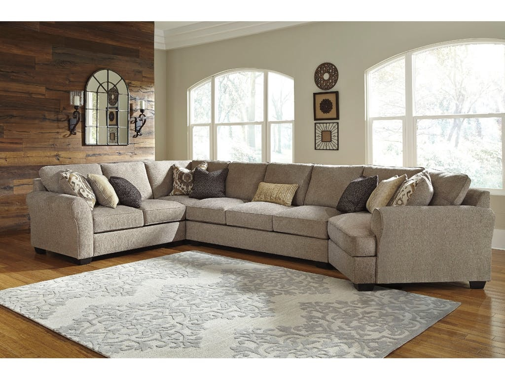 Signature Design By Ashley Right Cuddler Sectional 39102 46/75/76