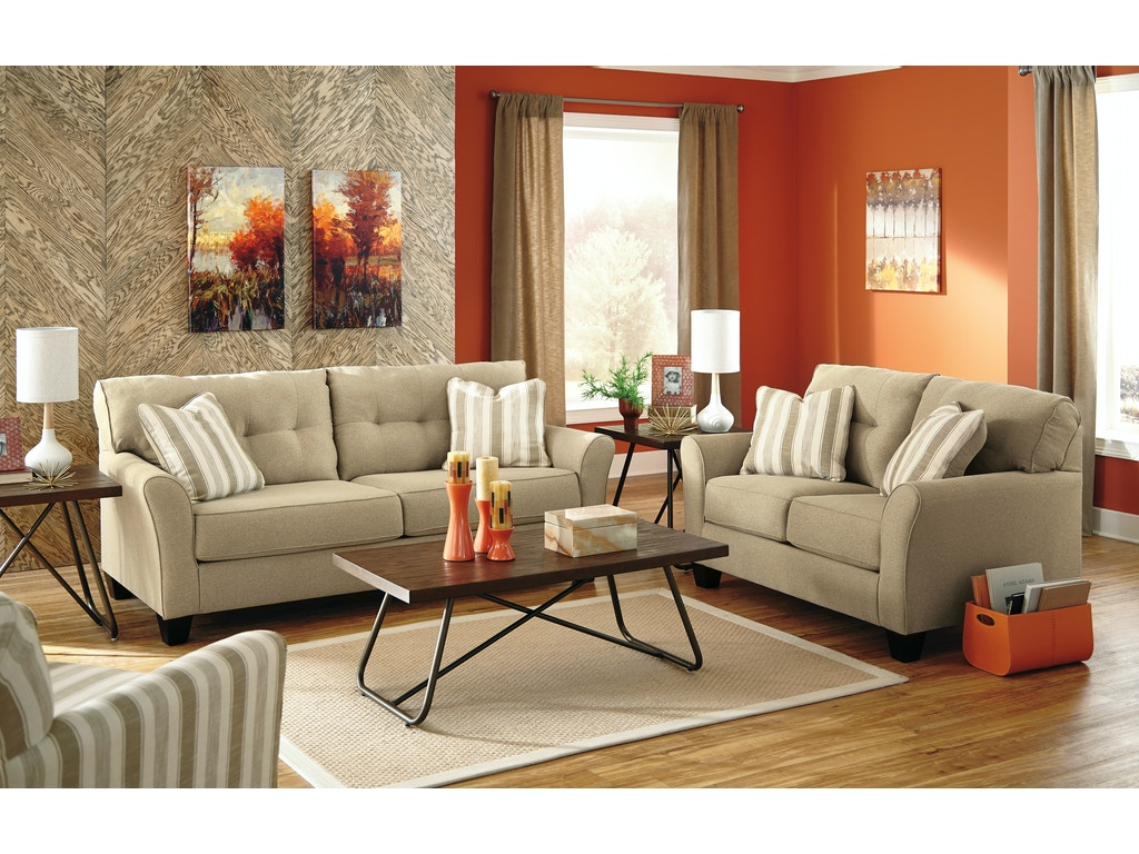 Signature design by ashley living room 5pc laryn living for Lounge room packages