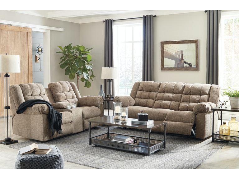 Signature Design by Ashley 6pc Reclining Living Room Includes ...