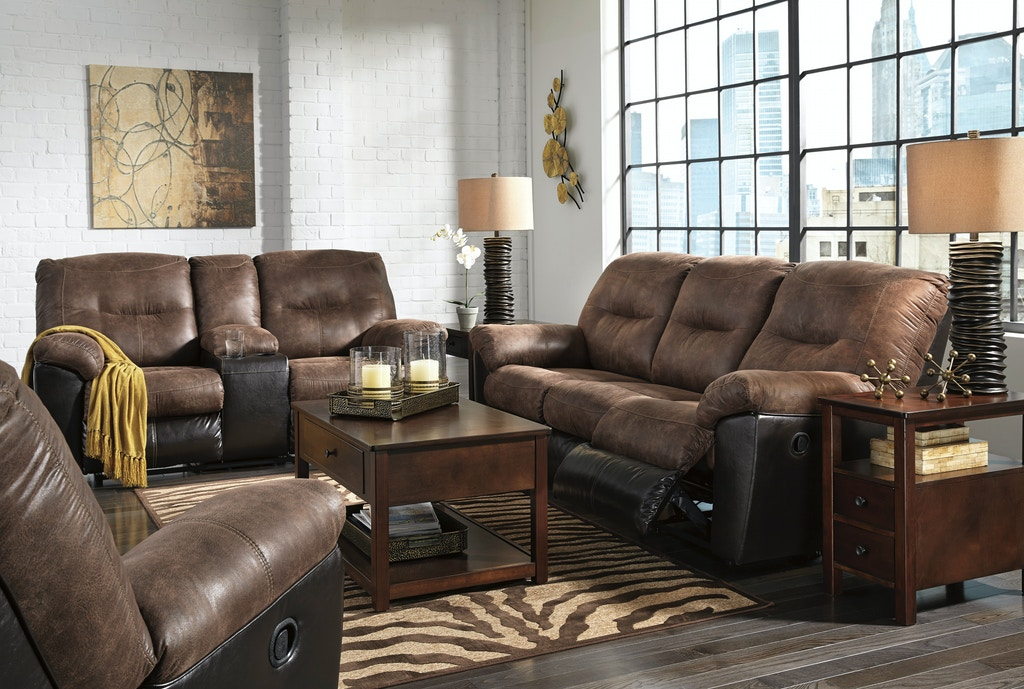 Signature Design By Ashley 3pc Follett Reclining Living Room Set Includes Sofa Loveseat