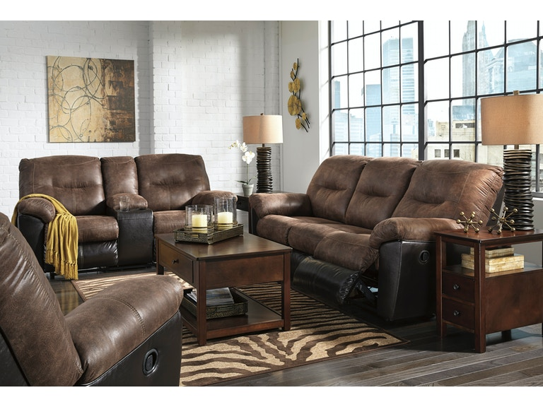 Signature Design by Ashley 3pc Follett Reclining Living room set ...