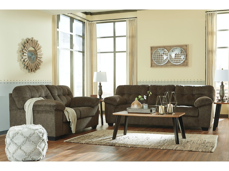Signature Design by Ashley Living Room 2pc Accrington Sofa and ...