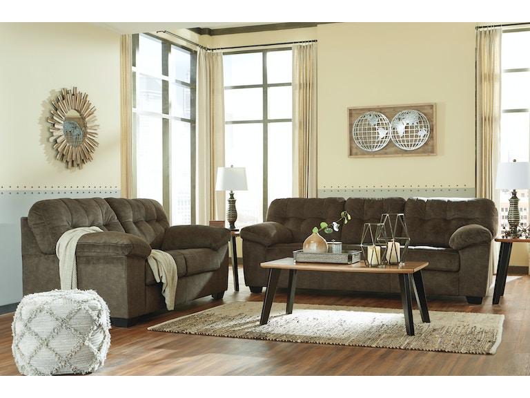 Signature Design By Ashley Living Room 2pc Accrington Sofa And