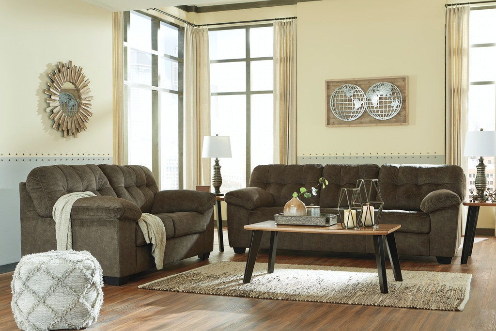 Awesome Signature Design By Ashley Living Room 2Pc Accrington Sofa Ibusinesslaw Wood Chair Design Ideas Ibusinesslaworg