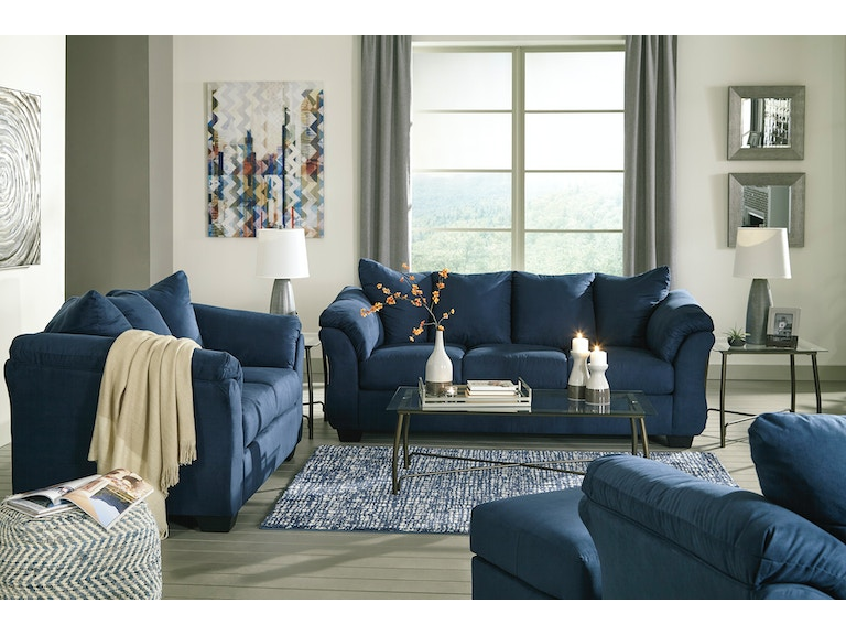 Signature Design by Ashley Living Room 8 Piece Darcy Package ...