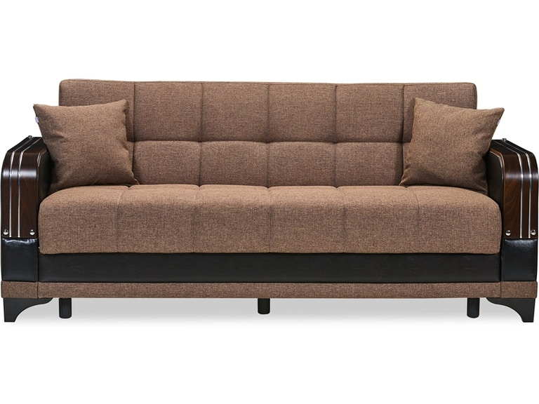 Full Size Sofa Sleeper Klik Klak w/Storage