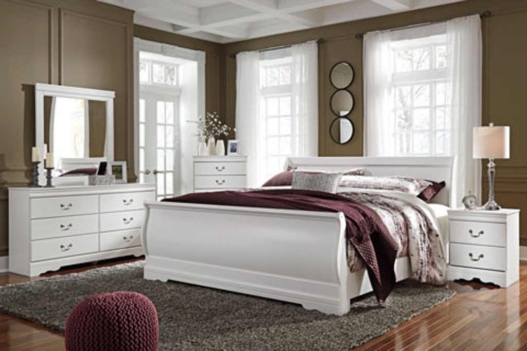Signature Design by Ashley 8PC Anarasia Bedroom Includes Queen ...