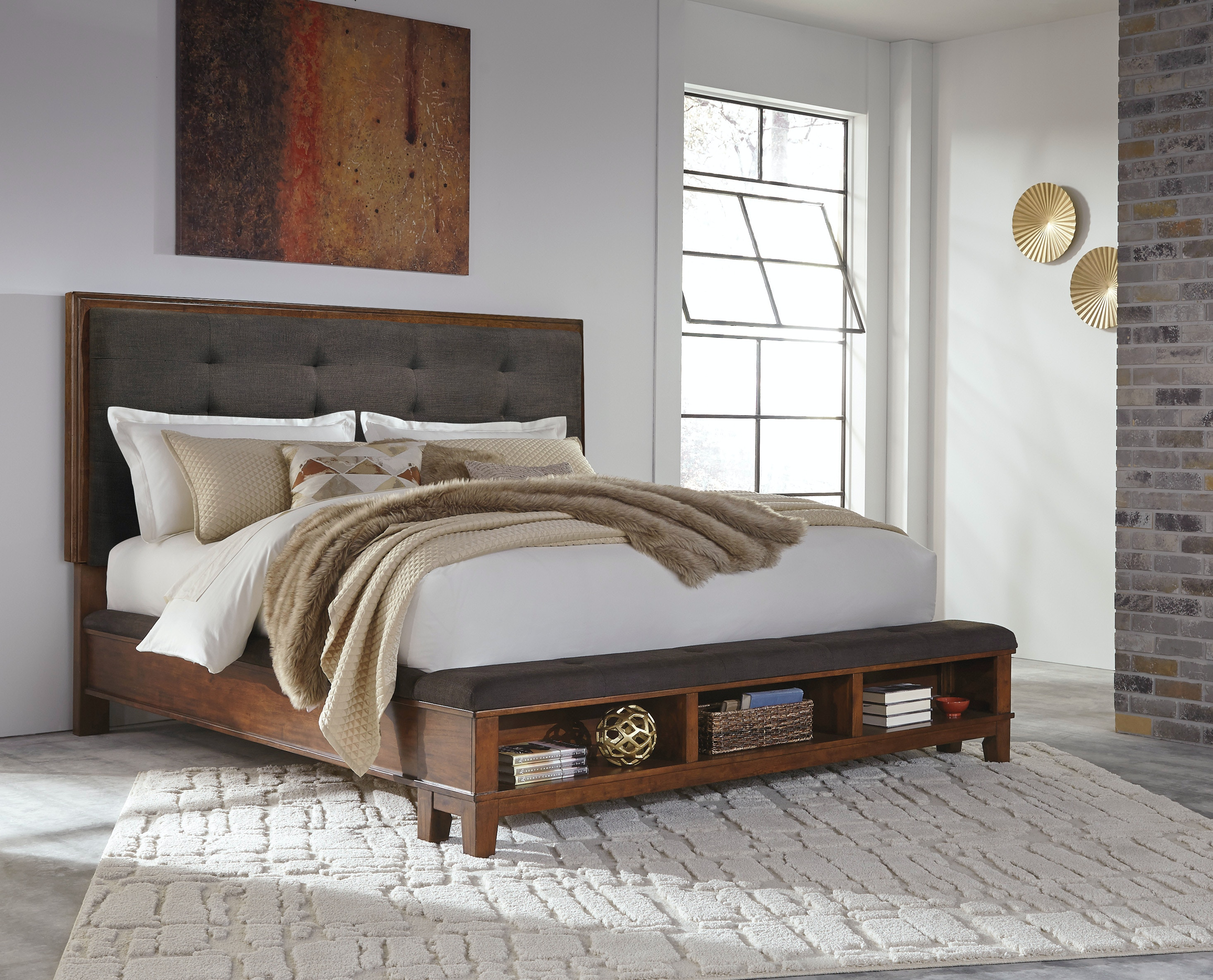 Signature Design By Ashley Bedroom Ralene Uph Bed W