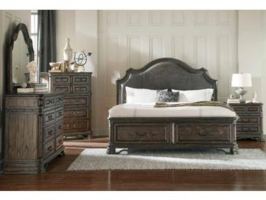 Transitional Bedroom Set 204040Q S4