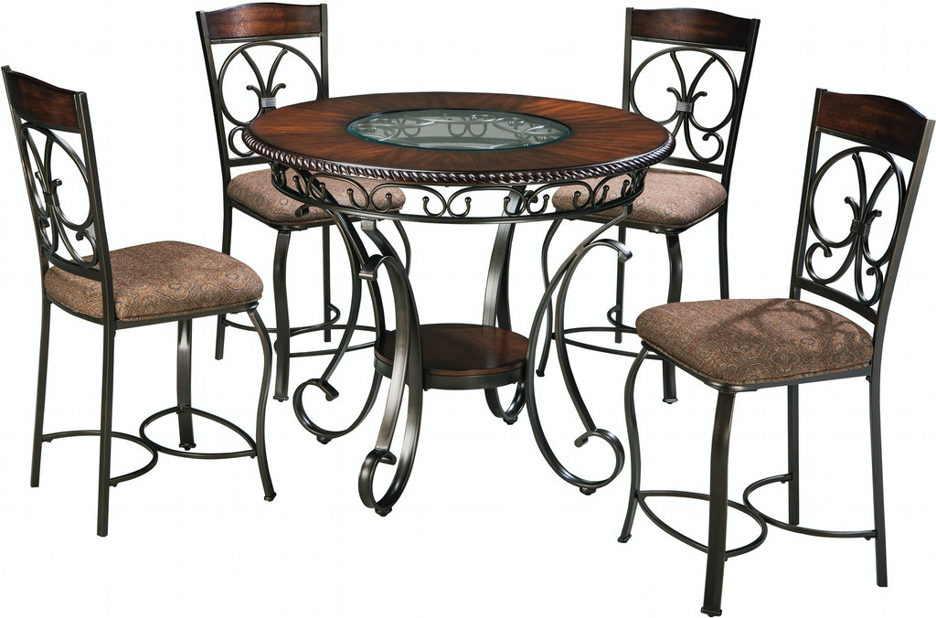 Signature Design By Ashley 5pc Counter Height Glambrey Dining Set D329 13 124