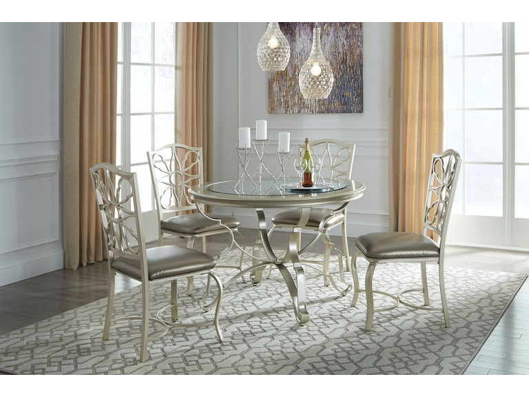Signature Design By Ashley 5pc Shollyn Round Dining Set D390 15 01x4