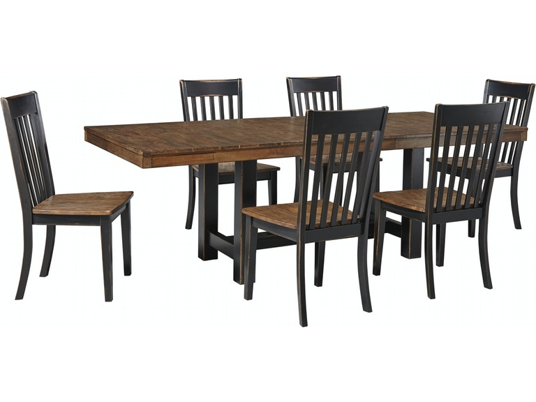 Signature Design By Ashley Emerfield Dining Set D563 35 016