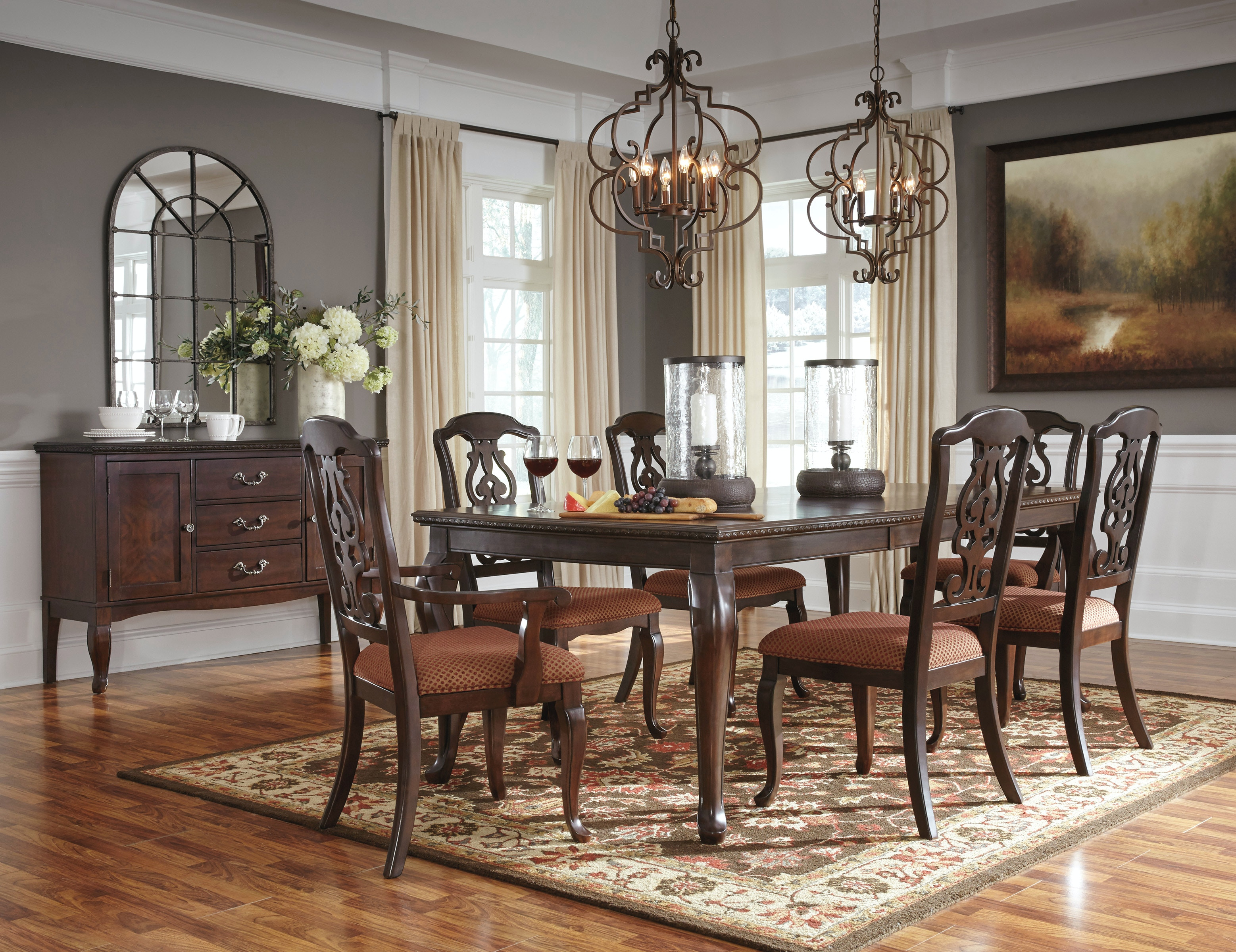 7pc traditional dining room
