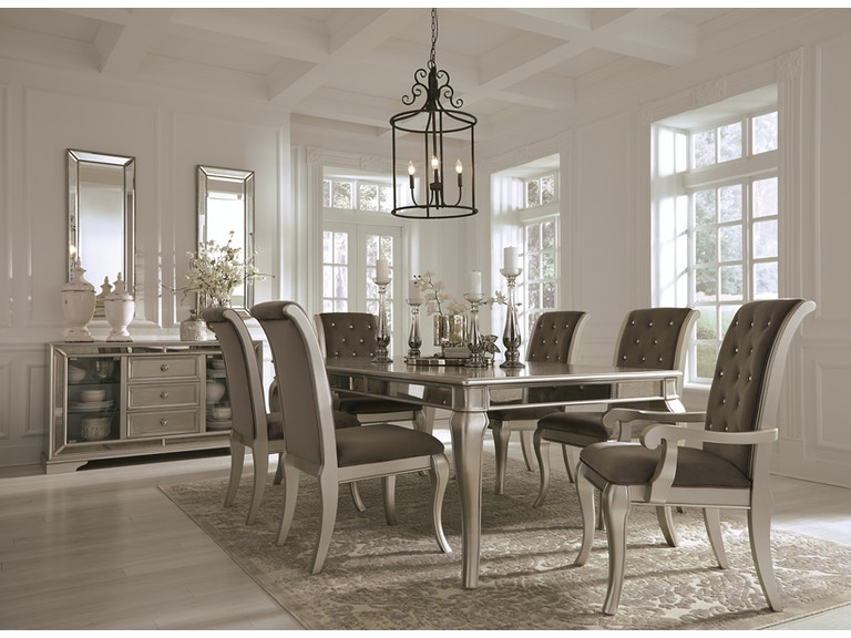 Signature Design By Ashley 7pc Birlanny Glam Dining Room Set D720 35 01x4