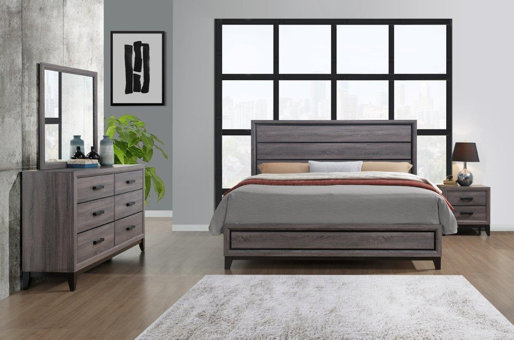 Global Furniture USA 7 piece Kate Bedroom Special Includes ...