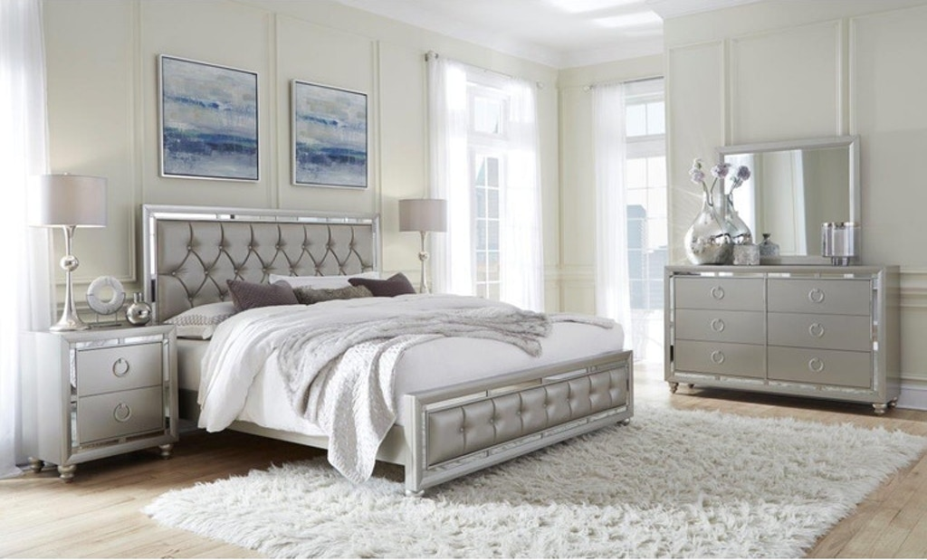 Global Furniture Usa 4pc Riley Queen Bedroom Set Fulton Stores