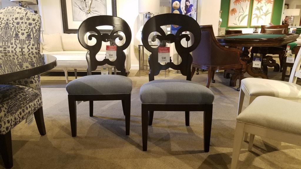 Shoferu0027s Drexel Dining Chairs 1336979