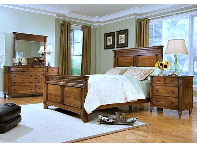 Durham Furniture Bedroom King Palladian Poster Bed 501 143