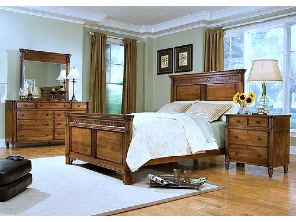 Durham Furniture George Washington Architect Bedroom Set