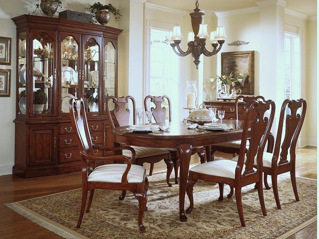 American Drew Furniture Cherry Grove Dining Room Set