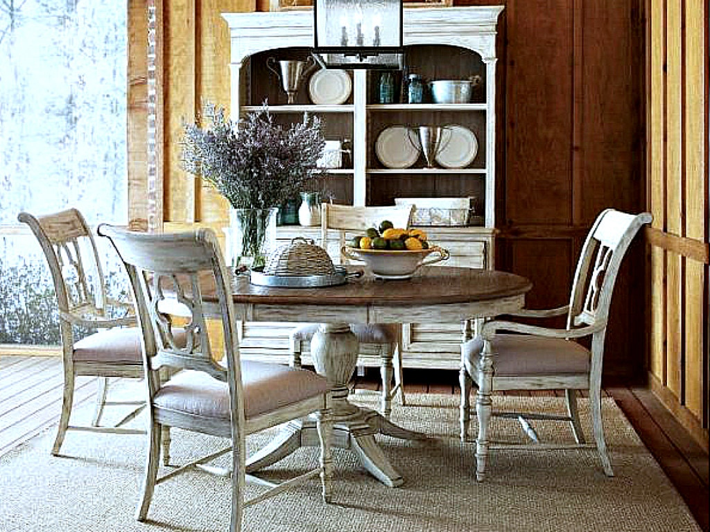 Kincaid Furniture Weatherford Dining Room Collection In Cornsilk, SEE MORE  PIECES BELOW.