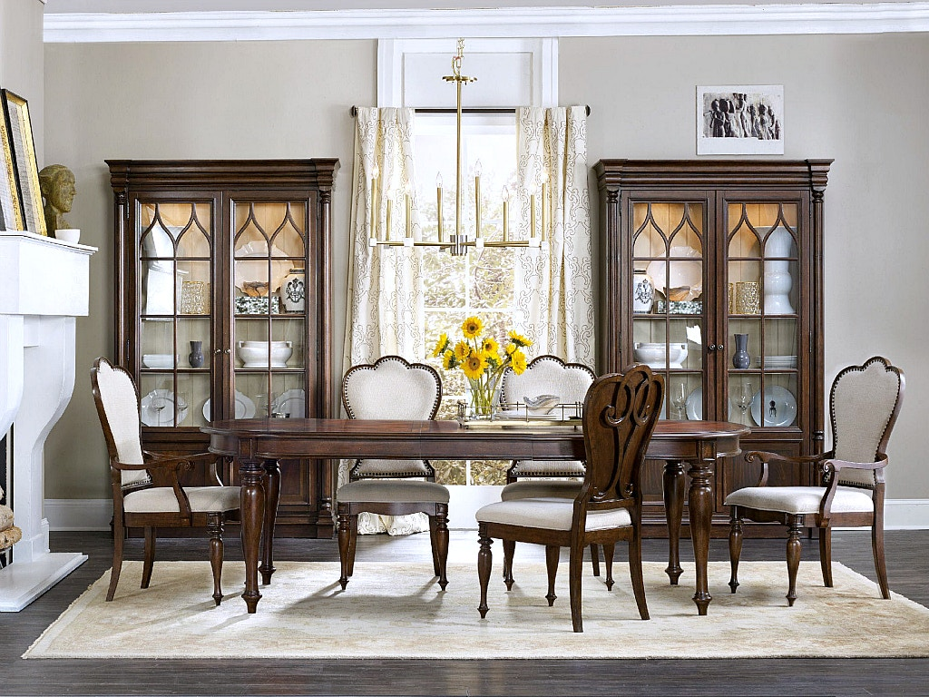 Hooker Furniture Leesburg Dining Room Collection, SEE MORE PIECES BELOW.  Leesburg Dining Room Collection