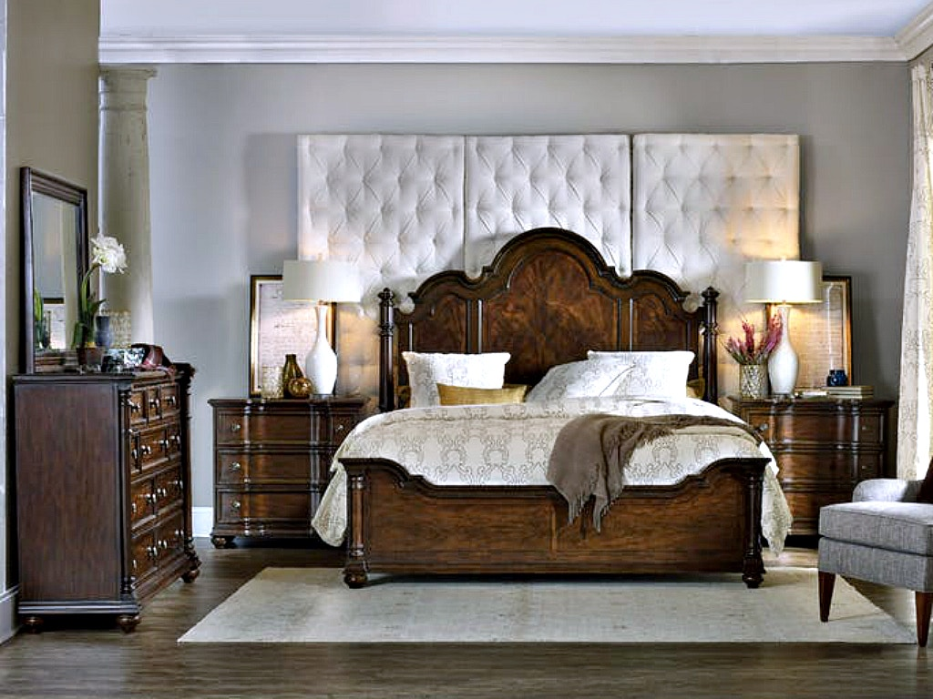 Hooker furniture leesburg bedroom set for Hooker bedroom furniture