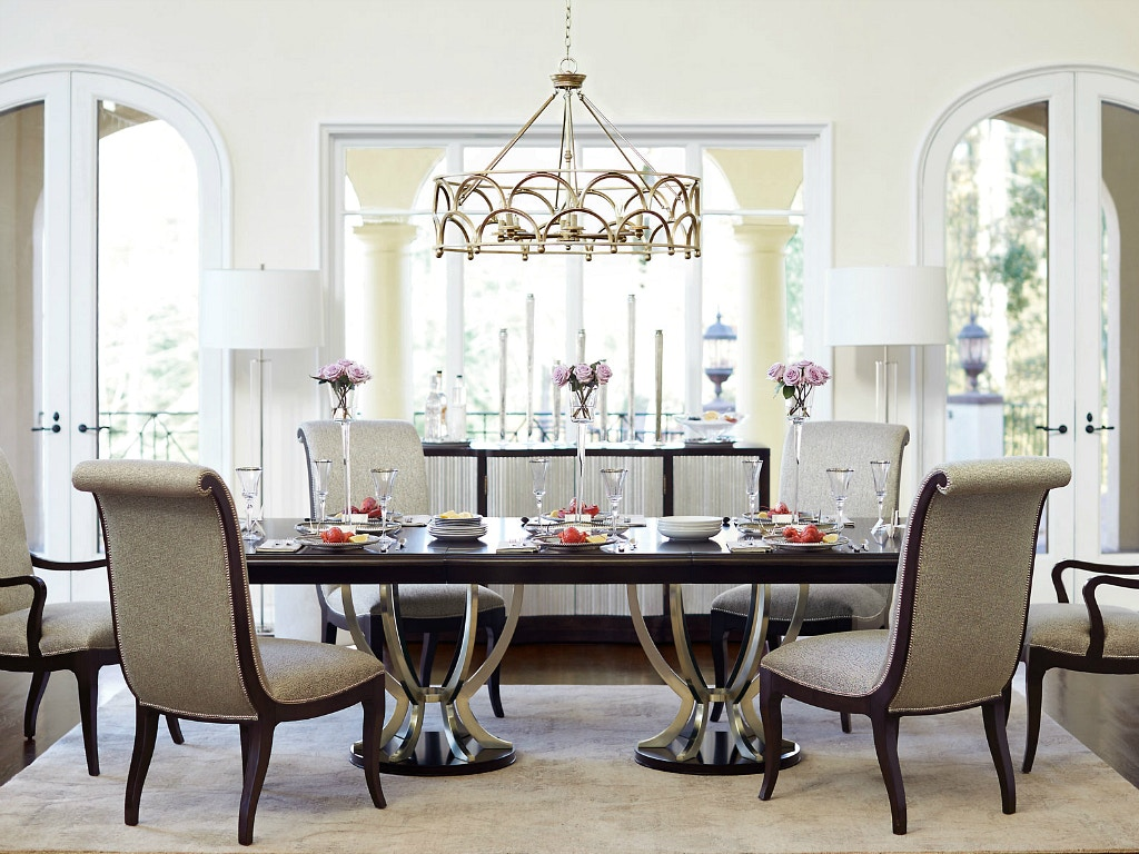 Wondrous Bernhardt Furniture Miramont Dining Room Set Interior Design Ideas Ghosoteloinfo