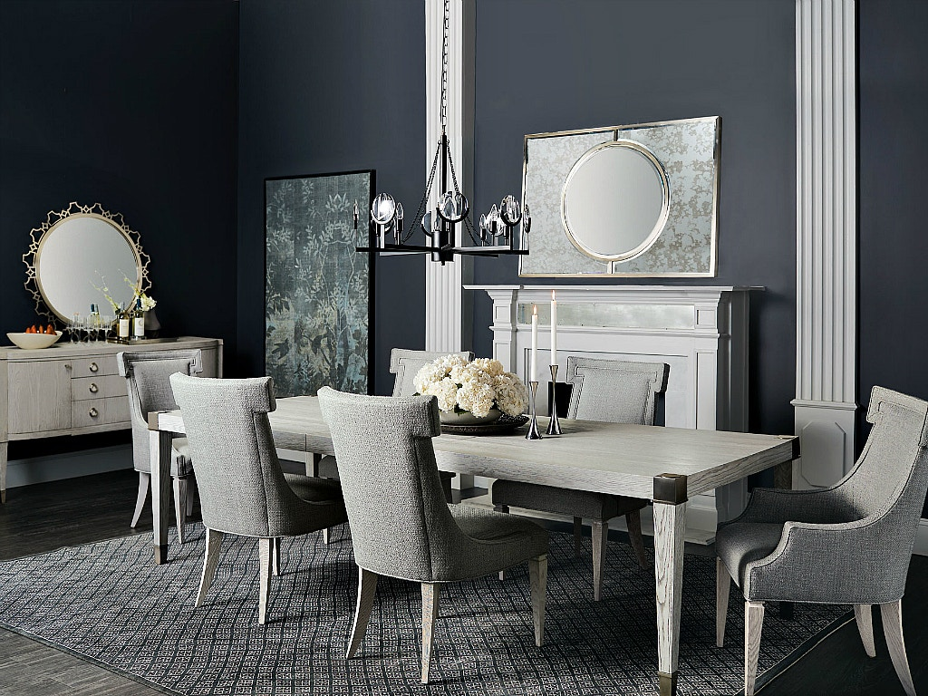 Domaine Blanc Dining Room Set # Living Blanc