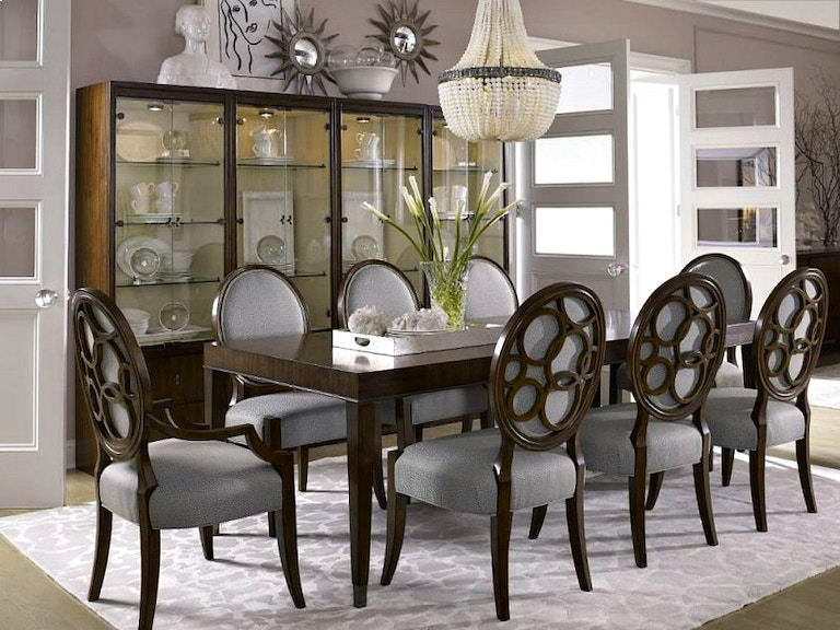 Dining Room CLEARANCE 499900 Plus Delivery Charge On Clearance Items Only Drexel Heritage Giasana 11 Pc Set At Lauters Fine Furniture