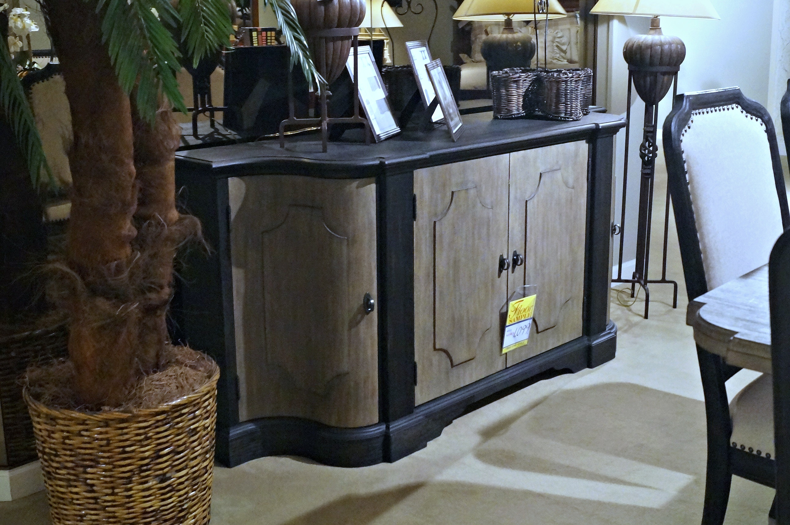 Dining Room CLEARANCE (Credenza Only) $1,099.00 Plus Delivery Charge  (clearance Items Only)
