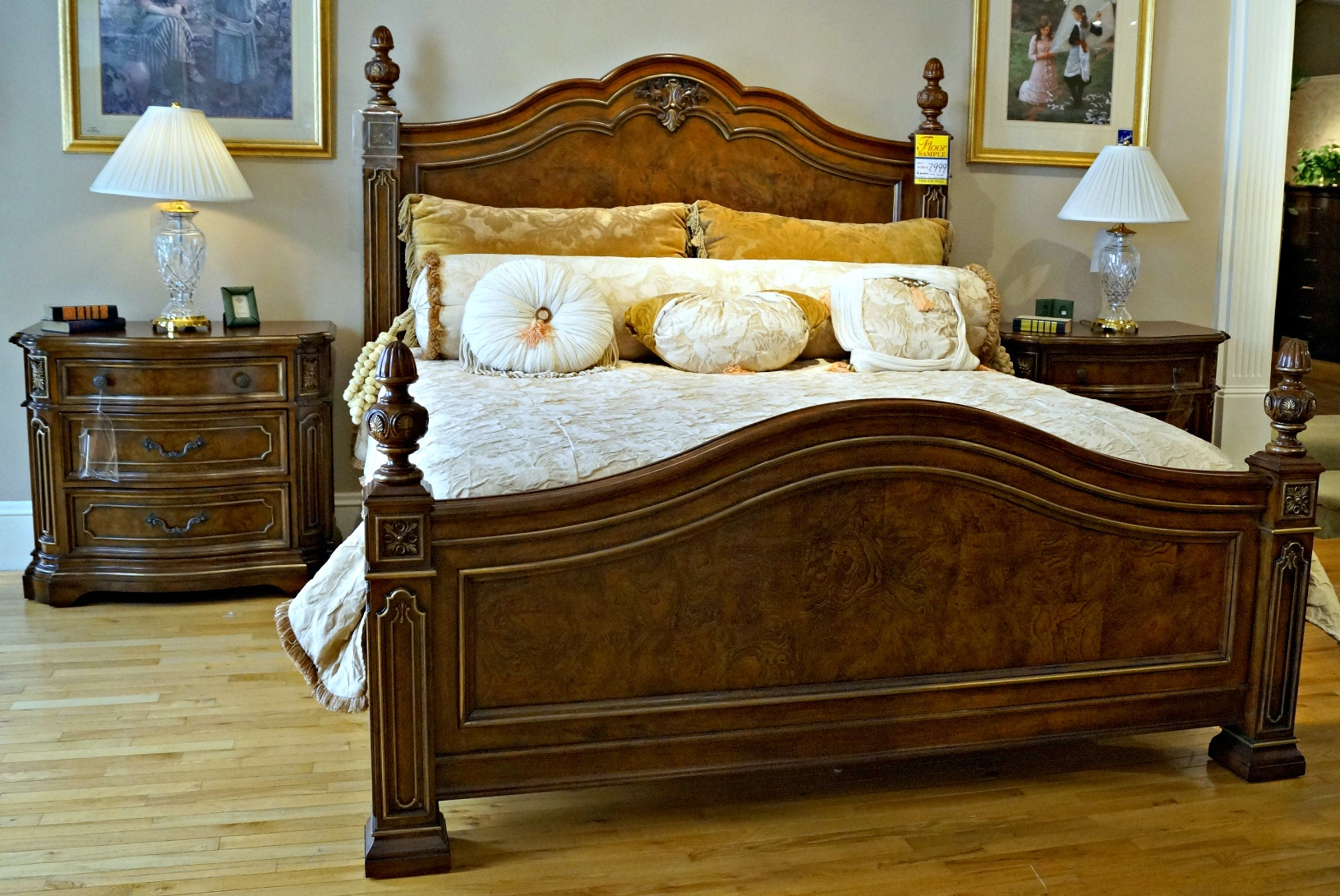 Bedroom CLEARANCE $7,999.00 Plus Delivery Charge (on Clearance Items Only)  Drexel Heritage Casa Vita
