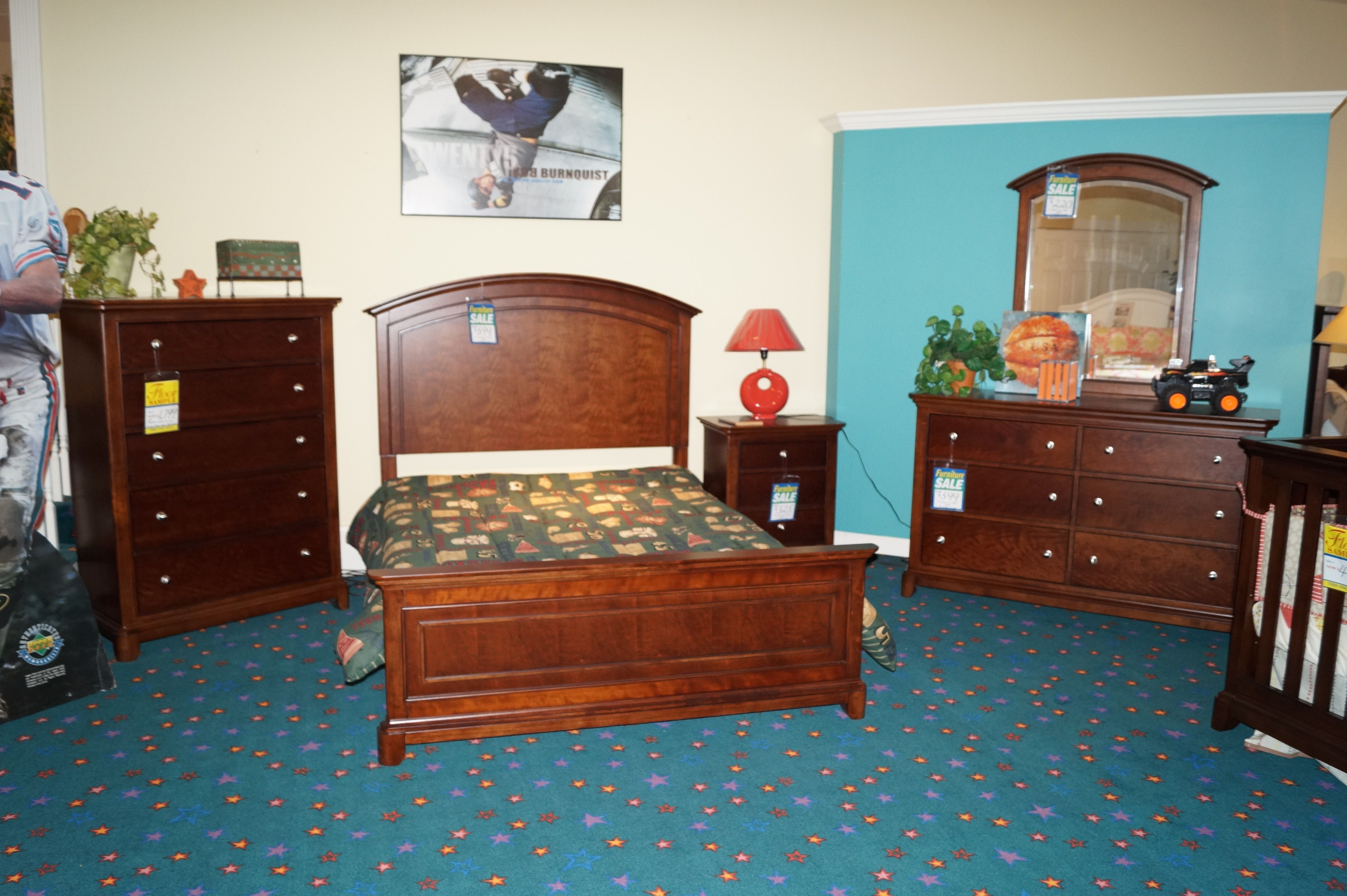 Exceptional Legacy Classic Kids Impressions 5 Pc. Full Size Bedroom Set