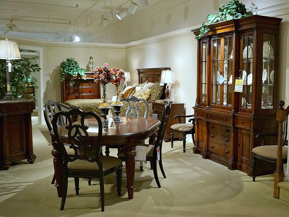 Dining Room CLEARANCE $5,999.00 Plus Delivery Charge (on Clearance Items  Only) Thomasville Fredericksburg 9