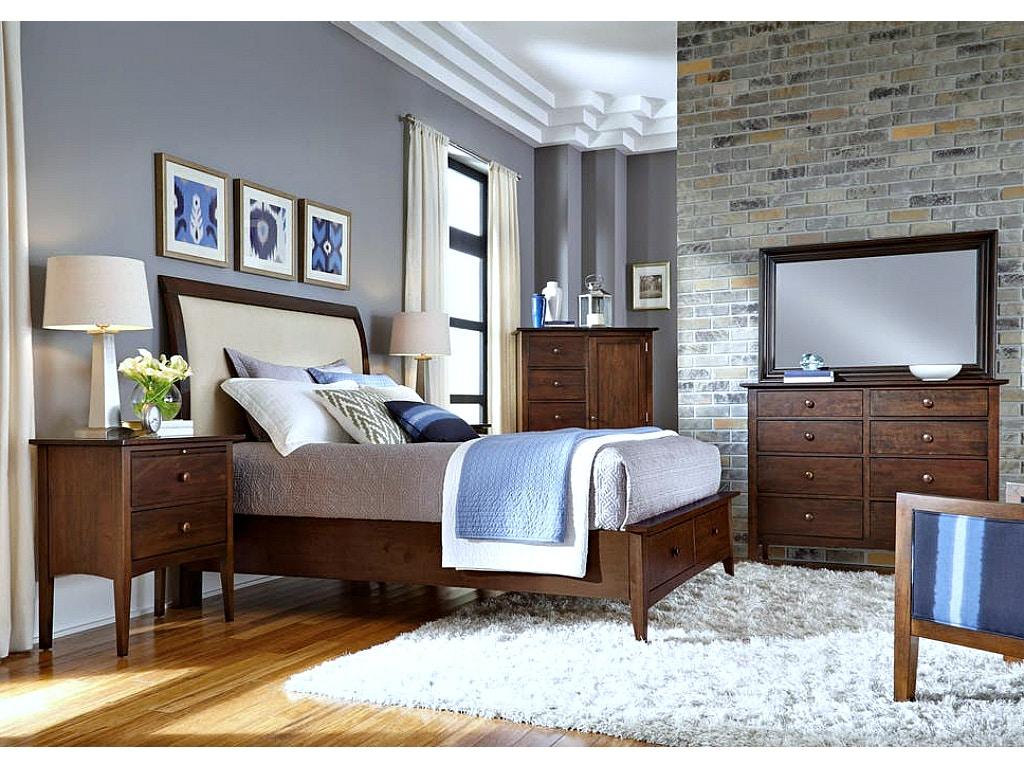 kincaid furniture gatherings bedroom set in molasses. Black Bedroom Furniture Sets. Home Design Ideas