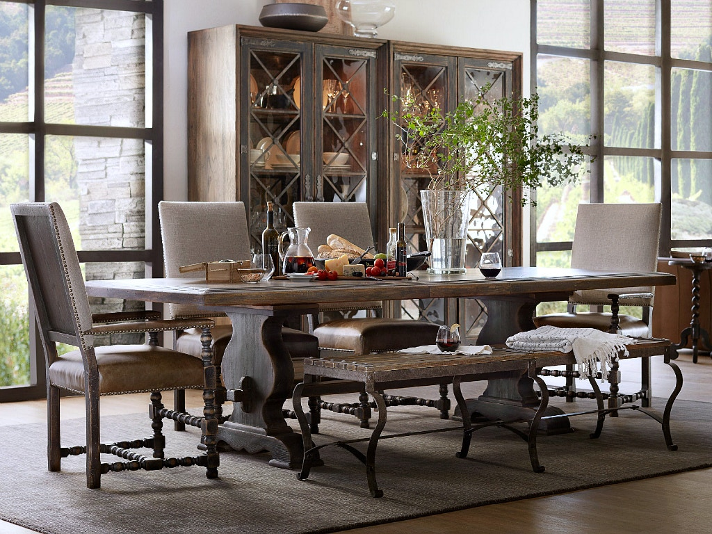 Hooker Furniture Hill Country Dining Room Collection, SEE MORE PIECES BELOW.