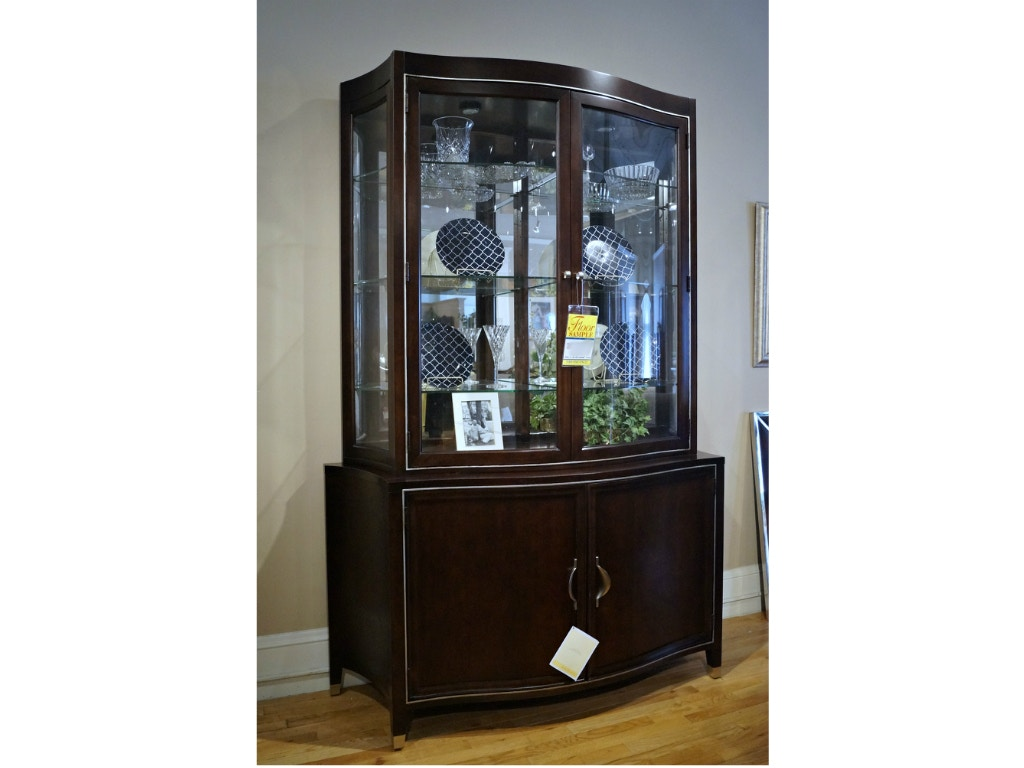 Bernhardt Furniture Mirimont Dining Room China/Display Cabinet