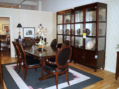 Clearance dining room sets lauters fine furniture easton pa thomasville spellbound 10 pc dining room set sxxofo