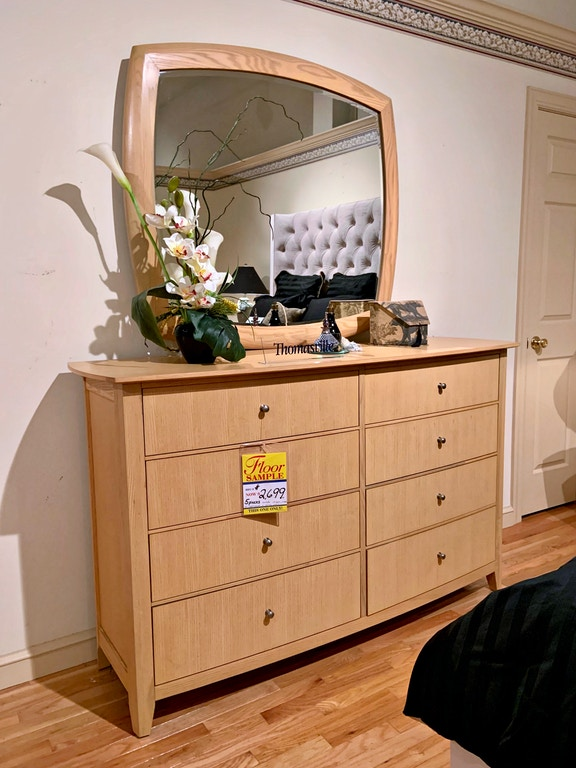 Thomasville Discontinued Blonde 5 Pc Bedroom Set