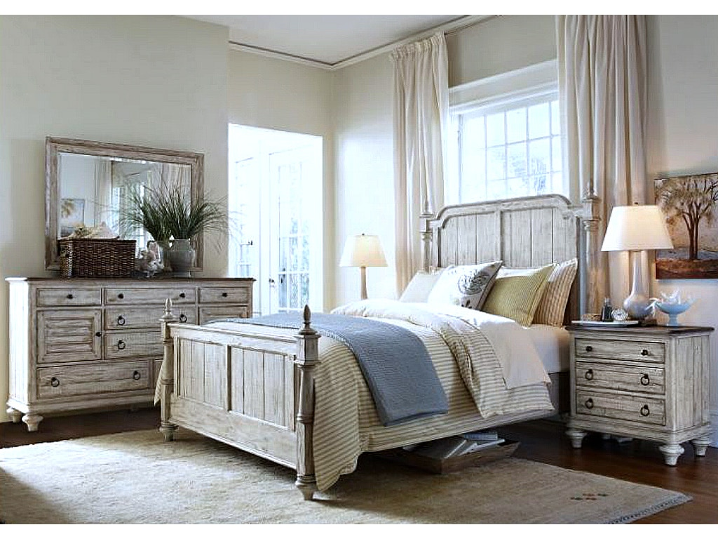 Kincaid Weatherford Bedroom Set In Cornsilk