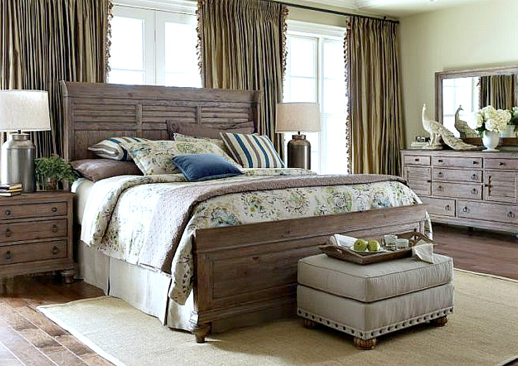 Kincaid Furniture Weatherford Bedroom Collection In Heather, SEE MORE  PIECES BELOW.