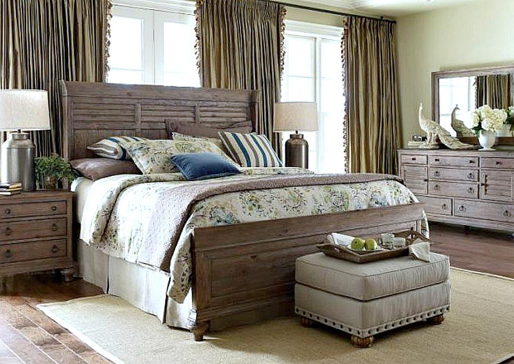 Kincaid Furniture Weatherford Bedroom Set in Heather