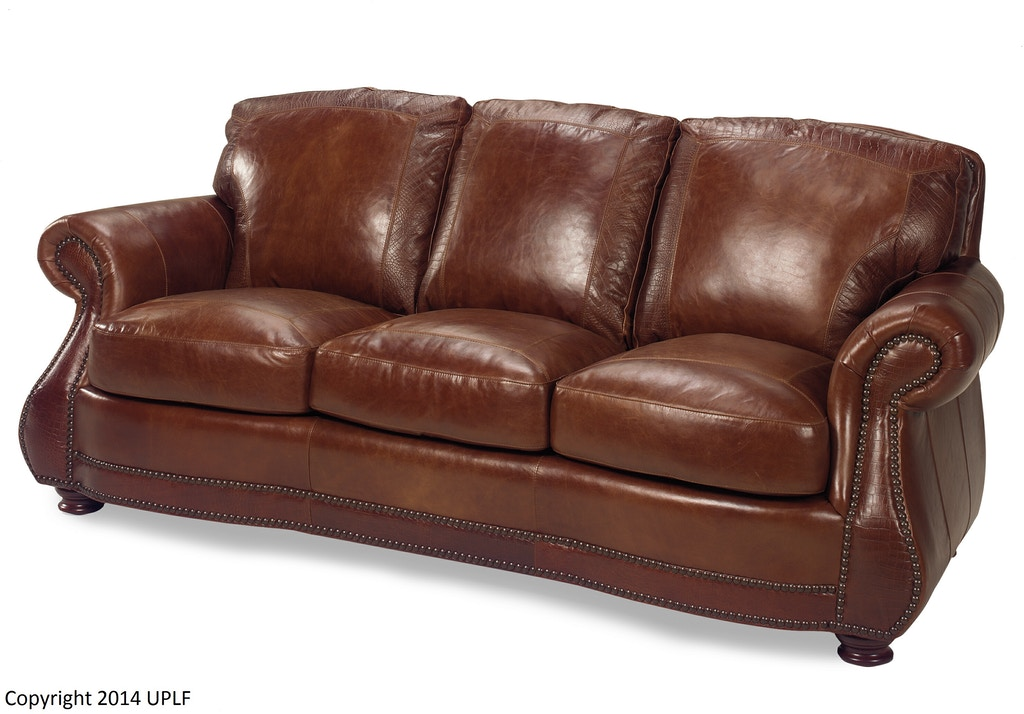 Living Room Brandy Crocodile Sofa 623230 Swann S
