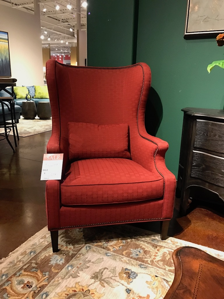 Old World Wing Chair