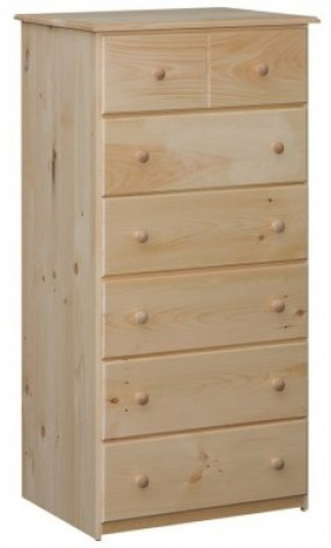 Unfinished 6 Drawer Chest Made In The Usa